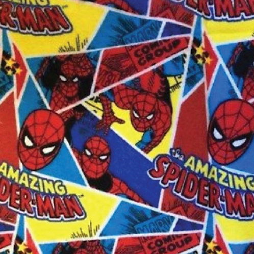 FLANNEL - Spiderman Fabric