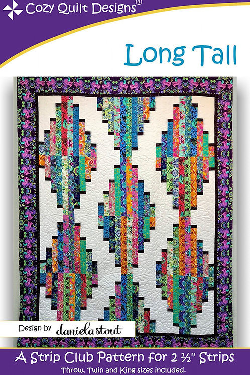 Cozy Quilt Designs Long Tall Quilt Pattern