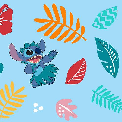 Lilo and Stitch Hula Fabric