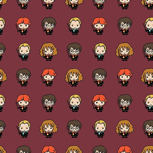 Harry Potter Flannel Character Fabric