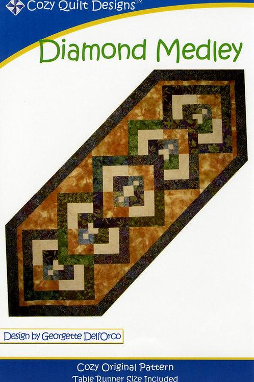 Cozy Quilt Designs Diamond Medley Pattern