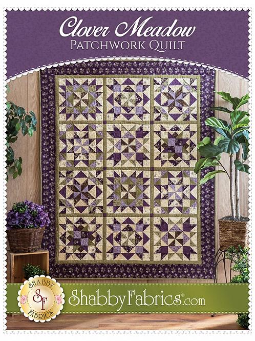 Clover Meadow Patchwork Quilt Pattern
