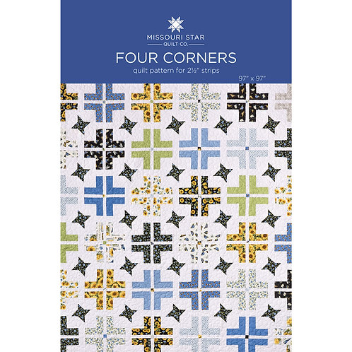 Missouri Star Four Corner Quilt Pattern