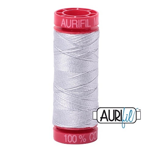 Aurifil 12 50m 2600 Dove Cotton Thread