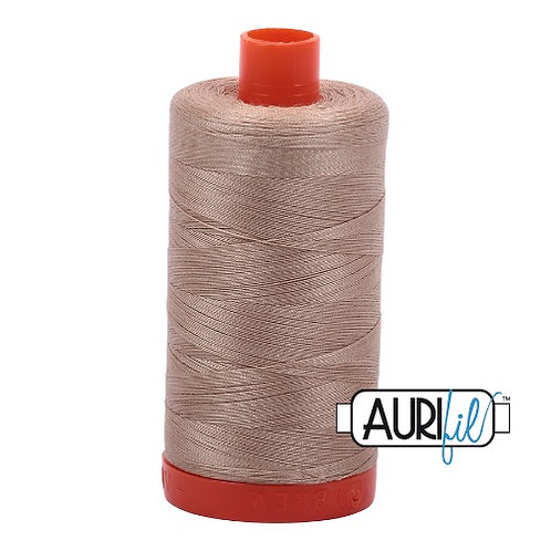 Aurifil 50 1300m 2326 Sand Cotton Thread
