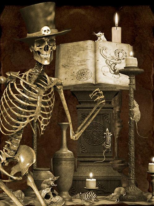 Halloween Graveyard Panel