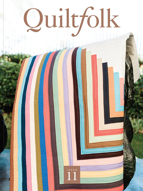 Quiltfolk Magazine Issue 11 Southern California No ads.
