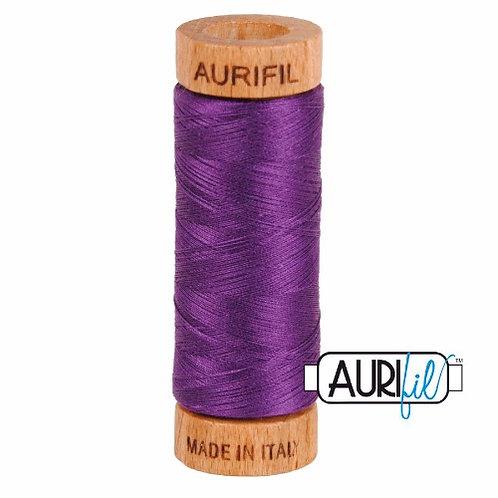 Aurifil 80 280m 2545 Medium Purple Cotton Thread