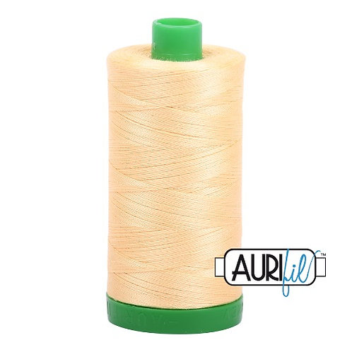 Aurifil 40 1000m 2130 Medium Butter Cotton Thread
