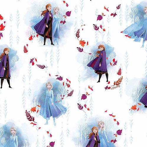 Disney Frozen Anna and Elsa Fabric