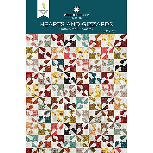 Missouri Star Hearts and Gizzards Pattern