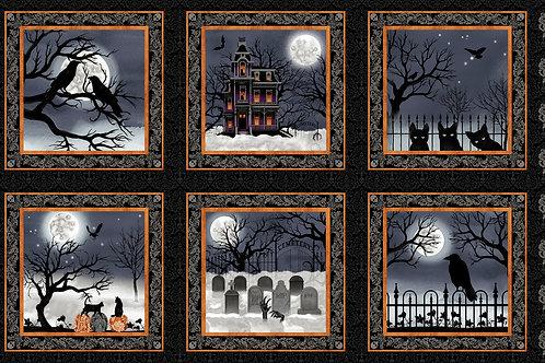 Spooky Night Blocks Panel