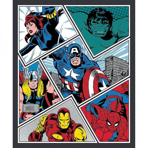Marvel Power Pop Fabric Panel