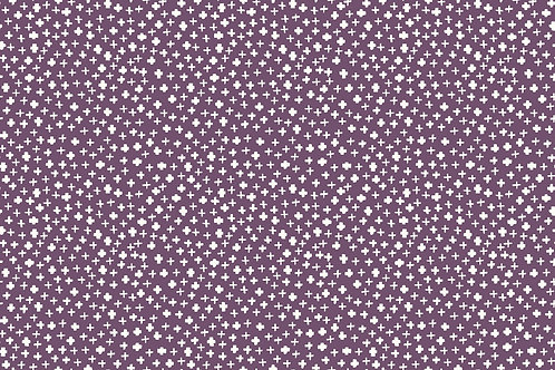 LP Makower Forest Talk - Cross Purple 8382/P1