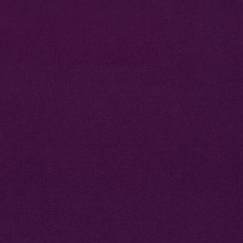Eggplant 1133 - Kona Solids Fabric