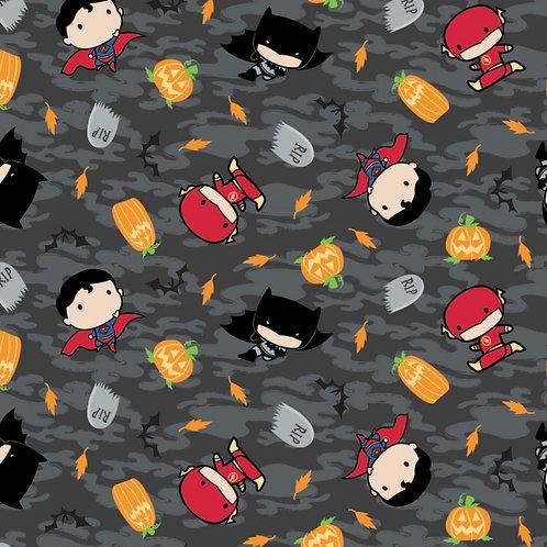 DC Boys Kawaii Halloween Fabric