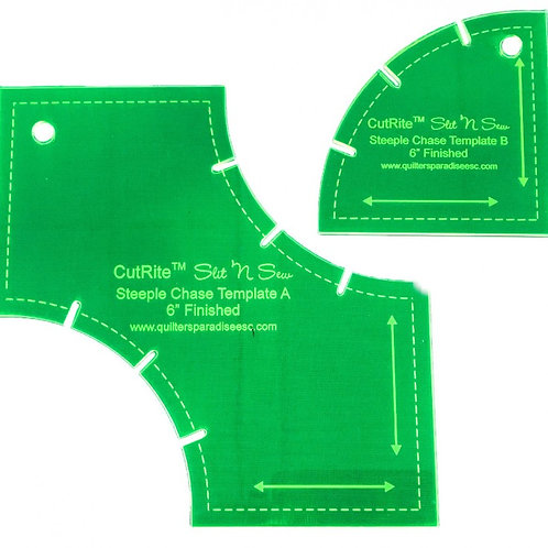 CutRite Slit N Sew Steeple Chase 6 Inch Finished Template