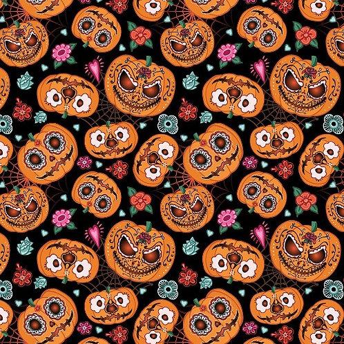 Pumpkins Fabric