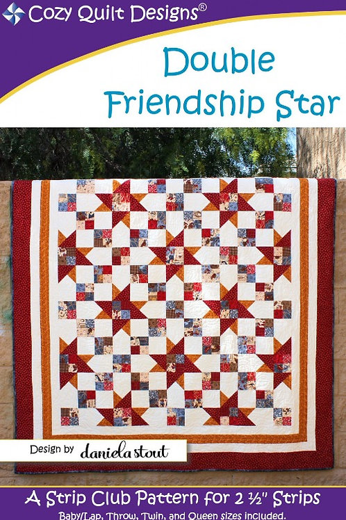 Cozy Quilt Designs Double Friendship Star Quilt Pattern