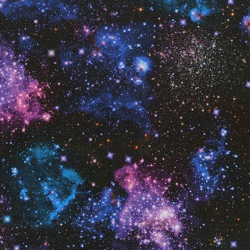 Stargazers Digital Nightfall Fabric