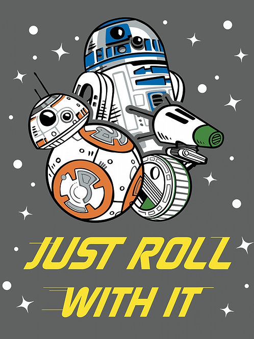 Star Wars Just Roll With It Panel