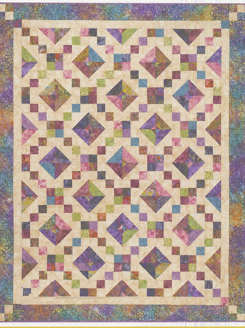 Cozy Quilt Designs Buckeye Beauty Quilt Pattern