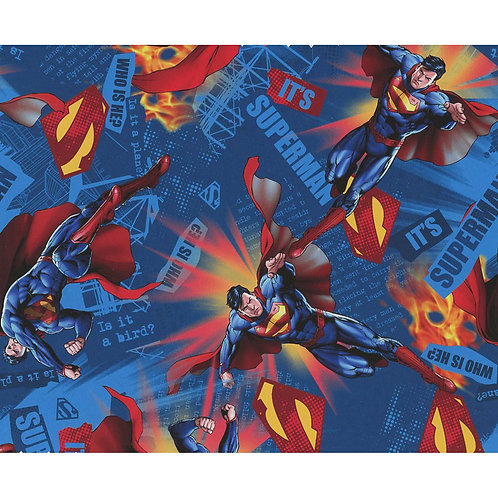 LP Superman Fabric