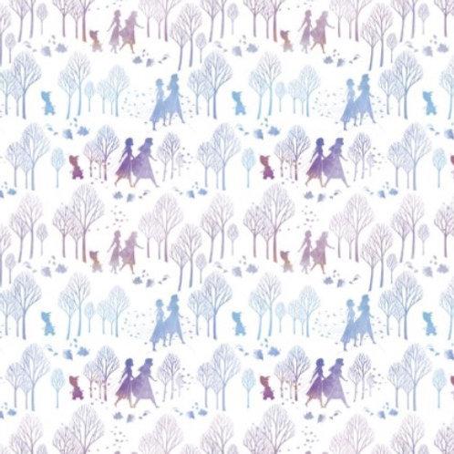 Disney Frozen 2 Anna, Elsa and Olaf Fabric