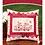 Thumbnail: Redwork Garden Accent Pillow Pattern
