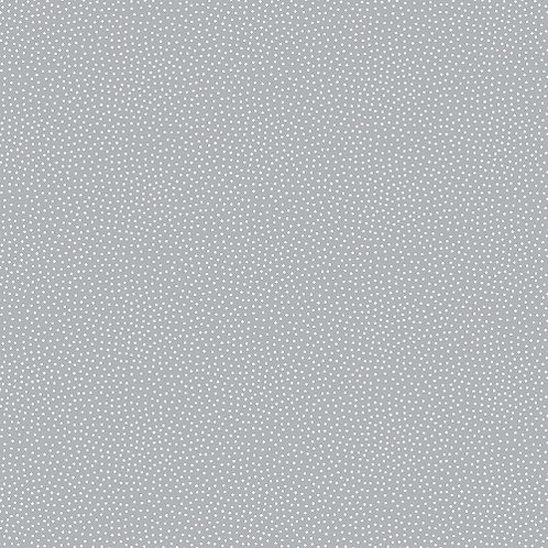 Makower Freckle Dot Storm and White Fabric 9436/C1