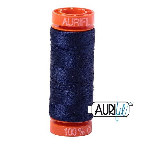 Aurifil 50 200m 2745 Cotton Thread Midnight