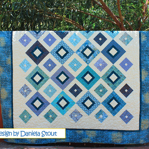 Cozy Quilt Designs Up Square Down Square Quilt Pattern
