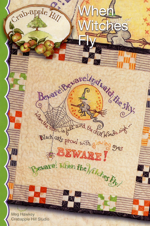 When Witches Fly Pattern