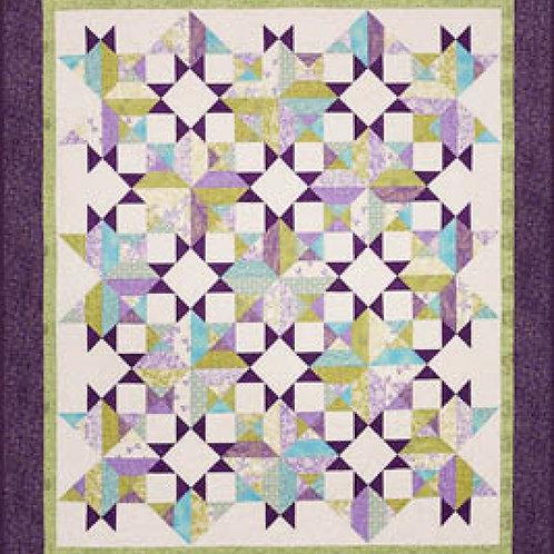 Cozy Quilt Designs Open Stars Quilt Pattern