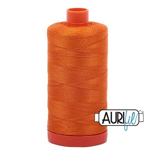 Aurifil 50 1300m 1133 Bright Orange Cotton Thread