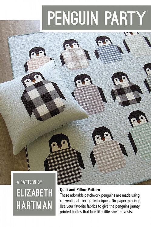 Penguin Party Quilt Pattern