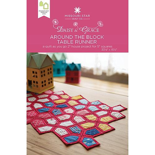 Missouri Star Around The Block Quilt Pattern