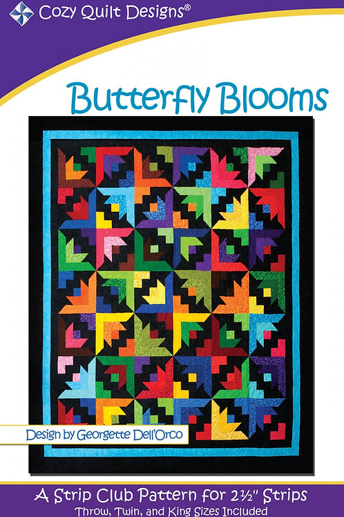 Cozy Quilt Designs Butterfly Blooms Quilt Pattern