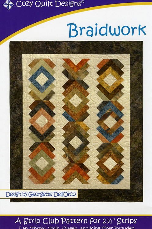 Cozy Quilt Designs Braidwork Quilt Pattern