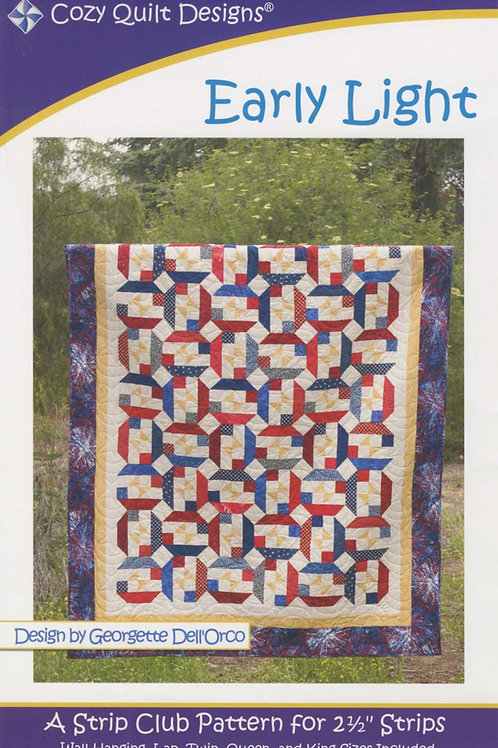 Cozy Quilt Designs Early Light Quilt Pattern