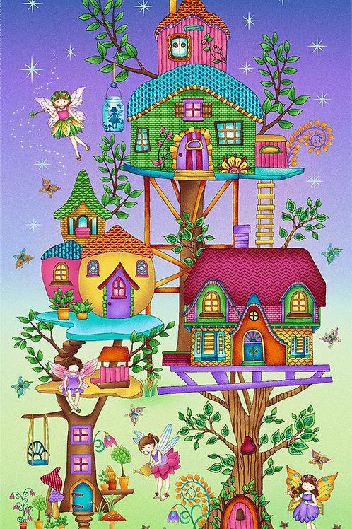 Fairy Land Fabric Panel