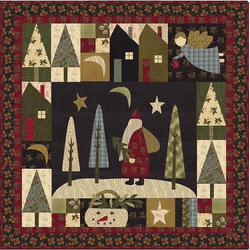 Santa Claus Lane Quilt Pattern