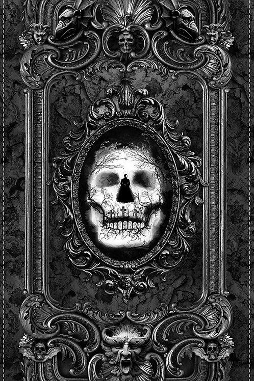 Wicked Skull Halloween Panel