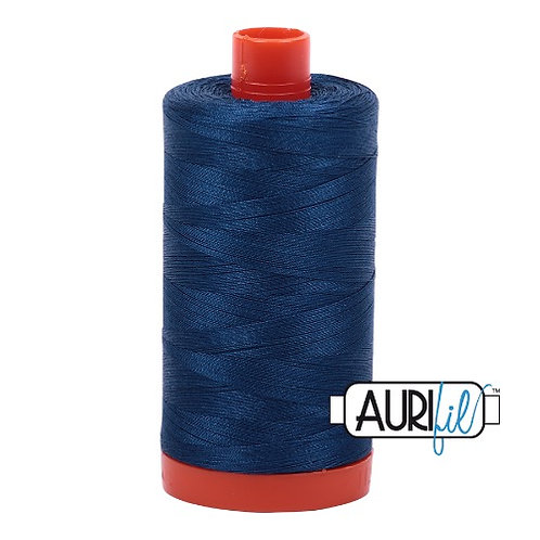 Aurifil 50 1300m 2783 Medium Delft Blue Cotton Thread