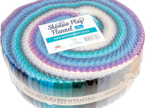 Maywood Flannel Shadow Play Oceanic Roll up