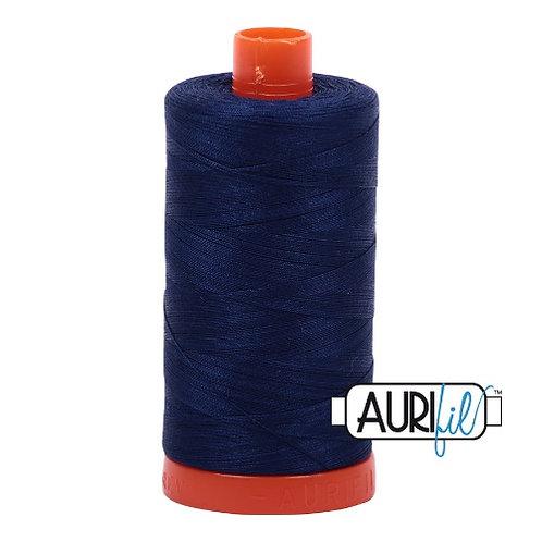 Aurifil 50 1300m 2784 Dark Navy Cotton Thread