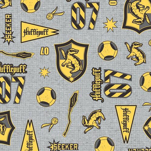 Harry Potter Hufflepuff House Pride Fabric