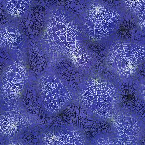 Gumdrop Raven Moon Spider Web Fabric