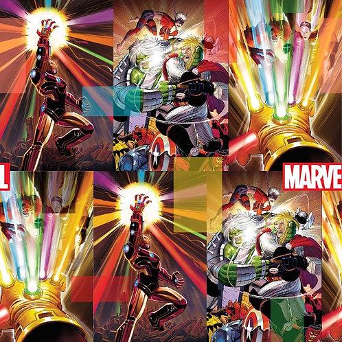 Marvel Energy Digitally Printed Fabric