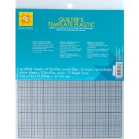 EZ Template Plastic Pk of 6